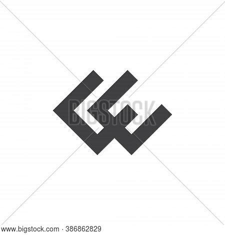 C E Letter Lettermark Logo Ce Monogram - Typeface Type Emblem Character Trademark