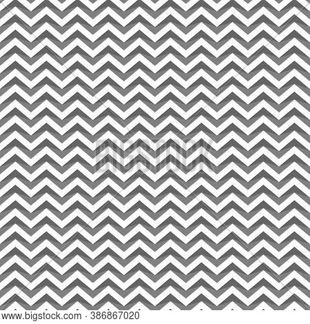 Zigzag Weaving Lines. Jagged Stripes. Herringbone Motif. Seamless Surface Pattern Design With Triang