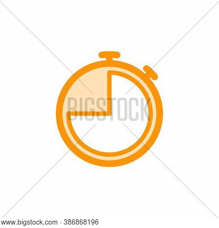 Illustration Vector Graphic Of Stopwatch Icon Template
