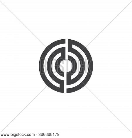 Target Logo - Success Center Dart Accuracy Winner Dartboard Aim Hit Focus Game Aiming Targeting Bull