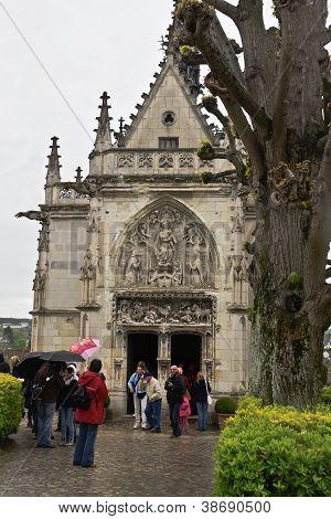 Visit to Saint Hubert's Chapel