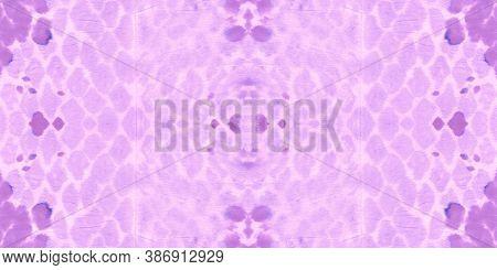 Seamless Cobra Pattern. Cobra Or Phyton Wild Print. Exotic Safari Background. Purple And Pink Rappor