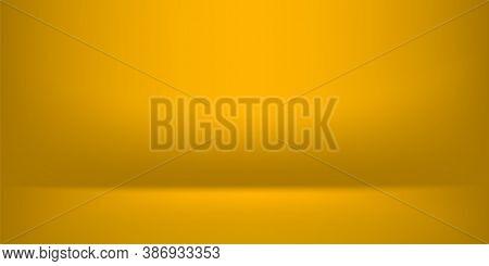 Golden Luxurious Banner Background, Yellow Gold For Background, Light Shine Background, Copy Space