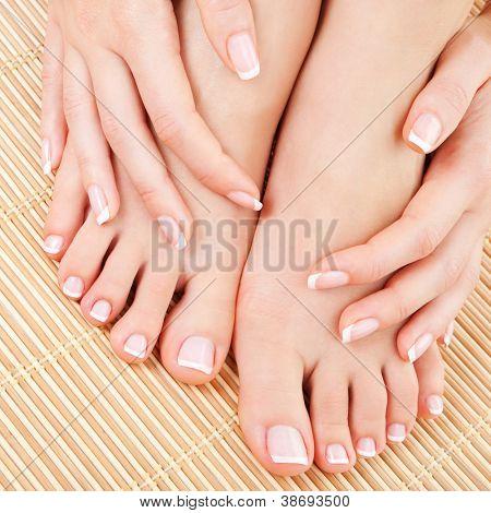 Красивые женские пальцы на ногах женские