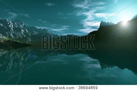 Mountain Sea