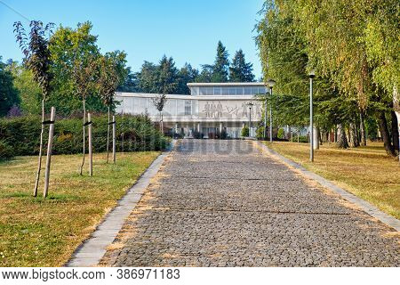 Belgrade / Serbia - September 26, 2020: The Museum Of Yugoslavia, With Josip Broz Tito's Grave Locat