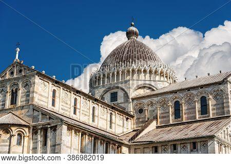 Pisa Cathedral (duomo Di Santa Maria Assunta, 1118), In Pisan Romanesque Style, Piazza Dei Miracoli