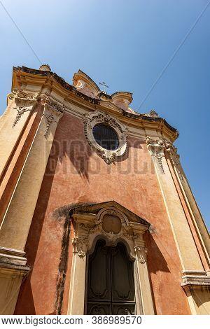 Facade Of The Church Of Santa Apollonia (christian Martyr Of Alexandria In Egypt) In Baroque Style (