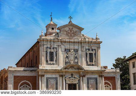 Church Of Santo Stefano Dei Cavalieri, 1565-1859 (st. Stephen Of The Knights), In Pisa Downtown, Pia