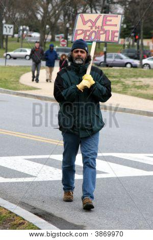 Anti War Protester