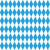 Seamless (easy to repeat - you see 9 tiles ) Oktoberfest and Bavarian flag pattern or background with fabric texture poster