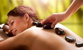 Spa Hot Stone Massage poster