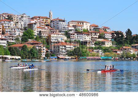 Ciudad de Kastoria, Grecia