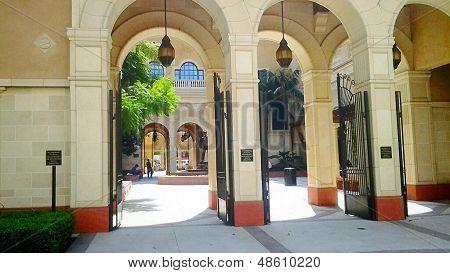 USC Film School Exterior