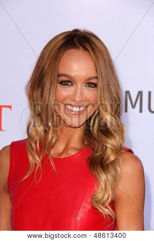 Jesse SpencerLOS ANGELES - JUL 27:  Sharni Vinson arrives at the 3rd Annual Celebration of Dance Gala at the Dorothy Chandler Pavilion on July 27, 2013 in Los Angeles, CA