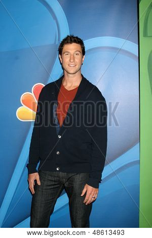 LOS ANGELES - JUL 27:  Pablo Schreiber at the NBC TCA Summer Press Tour 2013 at the Beverly Hilton Hotel on July 27, 2013 in Beverly Hills, CA