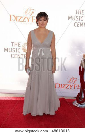 Jesse SpencerLOS ANGELES - JUL 27:  Jenna Ushkowitz arrives at the 3rd Annual Celebration of Dance Gala at the Dorothy Chandler Pavilion on July 27, 2013 in Los Angeles, CA