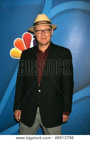 LOS ANGELES - JUL 27:  James Spader at the NBC TCA Summer Press Tour 2013 at the Beverly Hilton Hotel on July 27, 2013 in Beverly Hills, CA