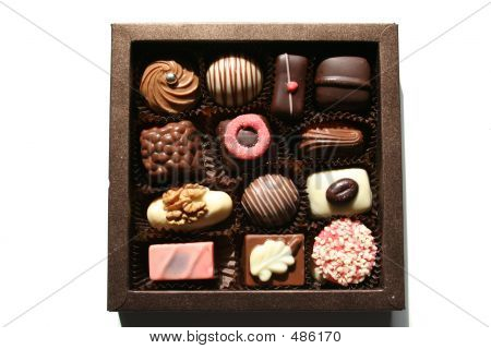 Box With Gorgeous Chocolates