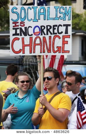 Socialism In Incorrect Change