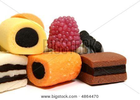 Heap Of Fruit Sweets
