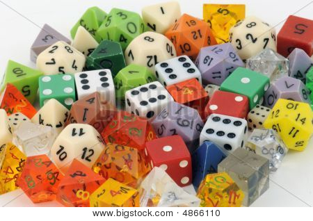 Collection Of Dice