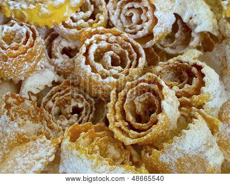 Deep fried Ukrainian pastry treat