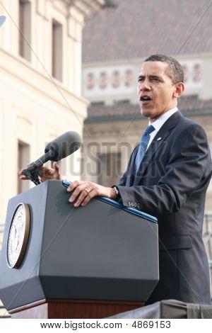 Speech of Barack Obama in Prague