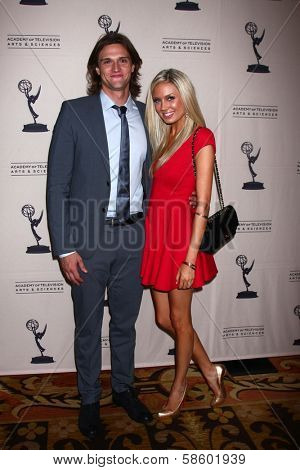 Hartley Sawyer and Melissa Ordway at the Daytime Emmy Nominees Reception presented by ATAS, Montage Beverly Hills, CA 06-13-13