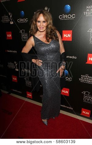 Catherine Bach at the 40th Annual Daytime Emmy Awards, Beverly Hilton Hotel, Beverly Hills, CA 06-16-13