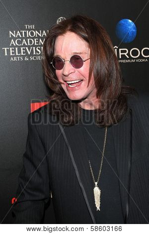 Ozzy Osbourne at the 40th Annual Daytime Emmy Awards, Beverly Hilton Hotel, Beverly Hills, CA 06-16-13