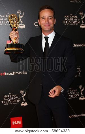 Mike Richards in the 40th Annual Daytime Emmy Awards Press Room, Beverly Hilton, Beverly Hills, CA 06-16-13