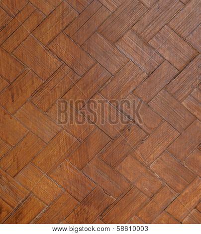 Native Thai style bamboo wall  Bamboo pattern basketry handmade