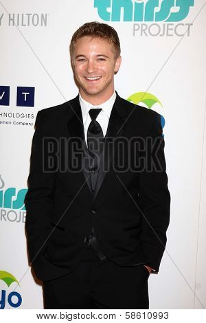 Michael Welch at the 4th Annual Thirst Gala, Beverly Hilton Hotel, Beverly Hills, CA 06-25-13