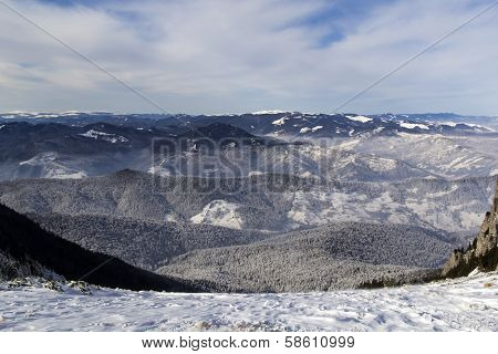 Mountains In Winter