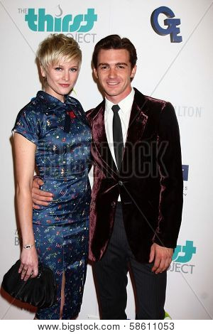 Paydin LoPachin and Drake Bell at the 4th Annual Thirst Gala, Beverly Hilton Hotel, Beverly Hills, CA 06-25-13