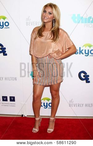 Cassie Scerbo at the 4th Annual Thirst Gala, Beverly Hilton Hotel, Beverly Hills, CA 06-25-13