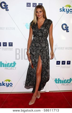 Natalie Pack at the 4th Annual Thirst Gala, Beverly Hilton Hotel, Beverly Hills, CA 06-25-13
