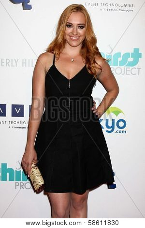 Andrea Bowen at the 4th Annual Thirst Gala, Beverly Hilton Hotel, Beverly Hills, CA 06-25-13