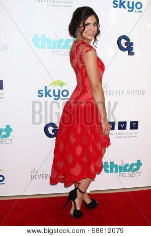 Camila Banus at the 4th Annual Thirst Gala, Beverly Hilton Hotel, Beverly Hills, CA 06-25-13