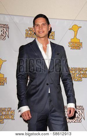 JD Pardo at the 39th Annual Saturn Awards Press Room, The Castaway, Burbank, CA 06-26-13
