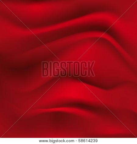 red textile background