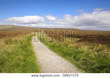 Penine Way In Peak District