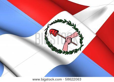 Flag Of Entre Rios (1820-1821)
