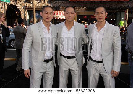 Luu Triplets at the