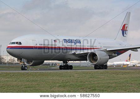 B777 Malaysia Airline
