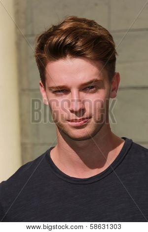 Patrick Schwarzenegger at Variety's Power of Youth, Universal Studios, Universal City, CA 07-27-13