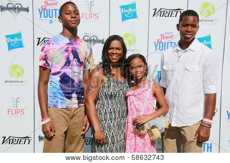 Quvenzhane Wallis at Variety's Power of Youth, Universal Studios, Universal City, CA 07-27-13