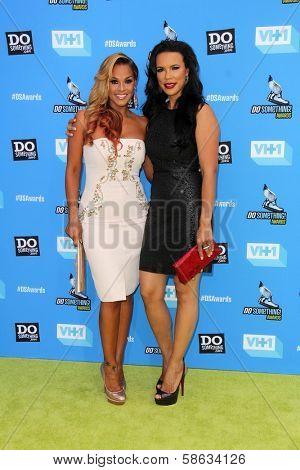 Sheree Fletcher and Shamicka Lawrence at DoSomething.org And VH1's 2013 Do Something Awards, Avalon, Hollywood, CA 07-31-13