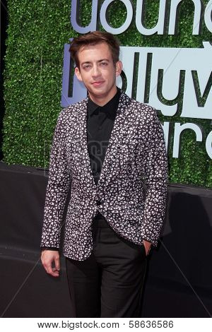 Kevin McHale at the 15th Annual Young Hollywood Awards, Broad Stage, Santa Monica, CA 08-01-13